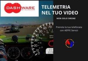 553410. TELEMETRIA NEL TUO VIDEO FINALE  (non solo drone!)