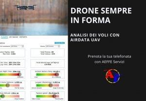 553611. DRONE SEMPRE IN FORMA CON PROGRAMMA DI MONITORAGGIO COMPLETO: Airdata uav