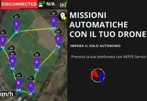 553209. FAI VOLARE IL DRONE DA SOLO: Missioni automatiche