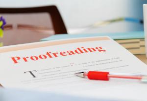 6341Correzione di Bozze – Proof reading 5 cartelle da 1800 battute spazi inclusi